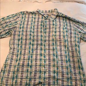 Patterned Columbia PFG shirt
